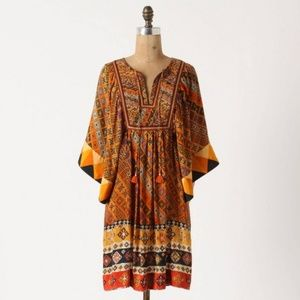 Tanvi Kedia Anthropologie Sumana Tunic Dress S